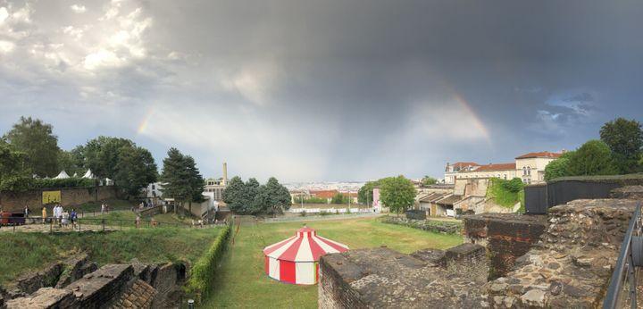 Un acalmie dans le ciel de Lyon le6 juillet 2019 (Jean-François Convert)