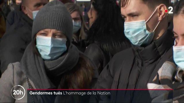 Hommage aux trois gendarmes tués à Ambert : le recueillement des proches et des habitants