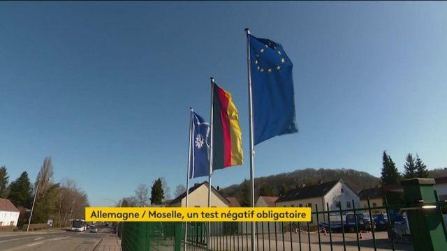 Covid-19 : l'Allemagne oblige les Mosellans à faire un test chaque jour
