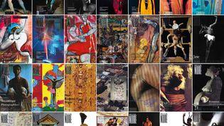 Couvertures du magazine Revue Noire (REVUE NOIRE)