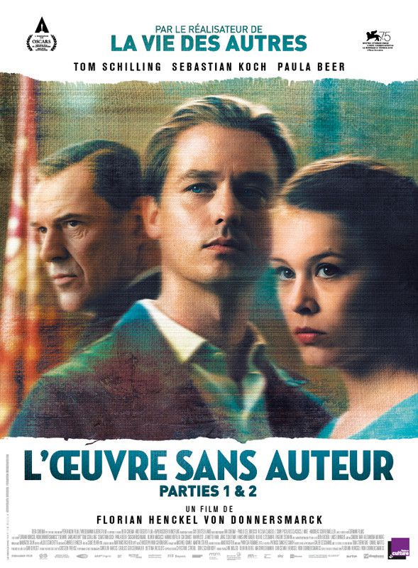"""L'affiche du film """"L'Oeuvre sans auteur"""" deFlorian Henckel Von Donnersmarck. (Diaphana Distribution)"""