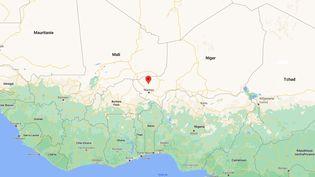 Cent civils ont été tués lors d'une double attaque dans deux villages de la commune deTondikiwindi, au Niger, le 2 janvier 2020. (GOOGLE MAPS)