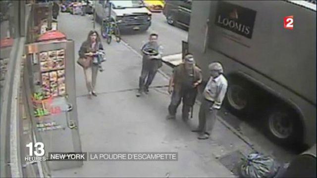 New York : un homme vole 40 kilos d'or en pleine journée