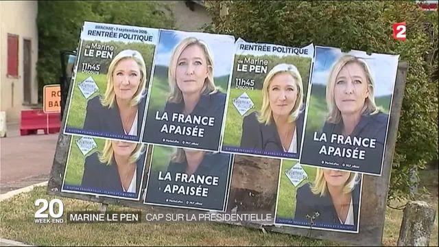 Marine Le Pen : cap sur la présidentielle