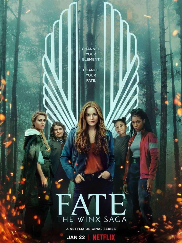 """Affiche de la série """"Destin : la saga Winx"""" (Netflix)"""