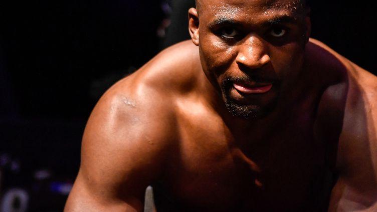 À 34 ans, Francis Ngannou a l'occasion de décrocher la ceinture des poids lourds de l'UFC. (DOUGLAS P. DEFELICE / GETTY IMAGES NORTH AMERICA)
