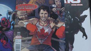 Justin Trudeau, le Premier ministre canadien, va conseiller Iron Man et Captain Marvel.  (Marc BRAIBANT / AFP)