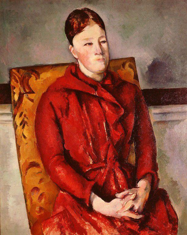 Madame Cézanne dans un fauteuil, par Cézanne (1890-94)  (The Art Archive / The Picture Desk)