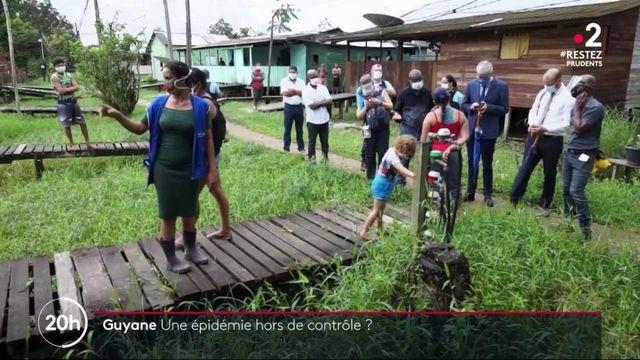 Guyane : l'épidémie progresse à la frontière avec le Brésil