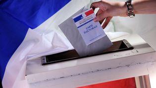 Les électeurs votent dans 1 905 cantons, dimanche 29 mars 2015. (FRANCK FIFE / AFP)