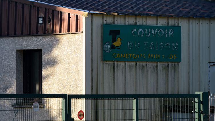 Les propriétaires du Couvoir du Saison à Lichos, dans les Pyrénées-Atlantiques, se défendent après les accusations de L214. (GAIZKA IROZ / AFP)