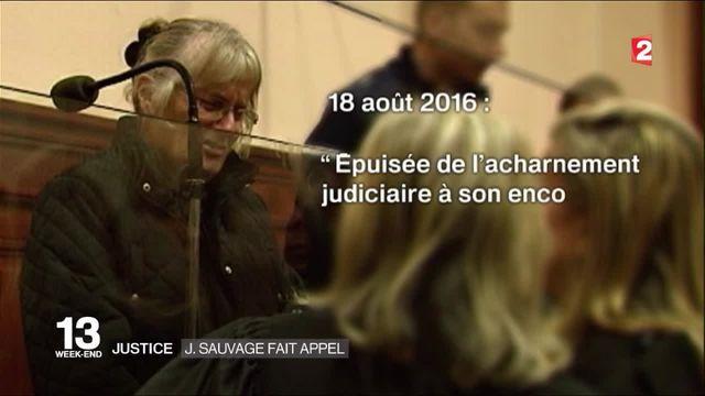 Justice : Jacqueline Sauvage fait appel