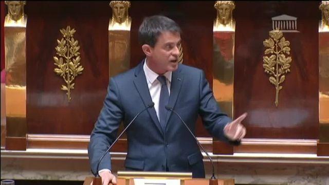"""Valls aux frondeurs du PS : """"Je ne laisserai pas détruire la gauche de gouvernement"""""""