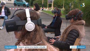 Harcèlement : la réalité virtuelle au service de la prévention (FRANCE 3)