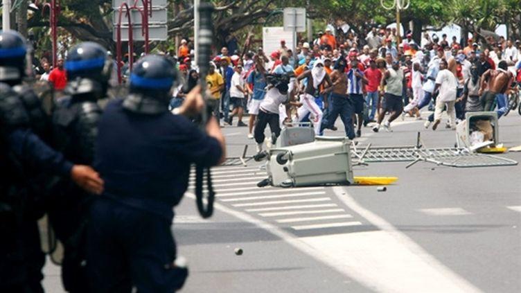 Le mardi 10 mars, à Saint-Denis de la Réunion. (© AFP - Richard Bouhet)