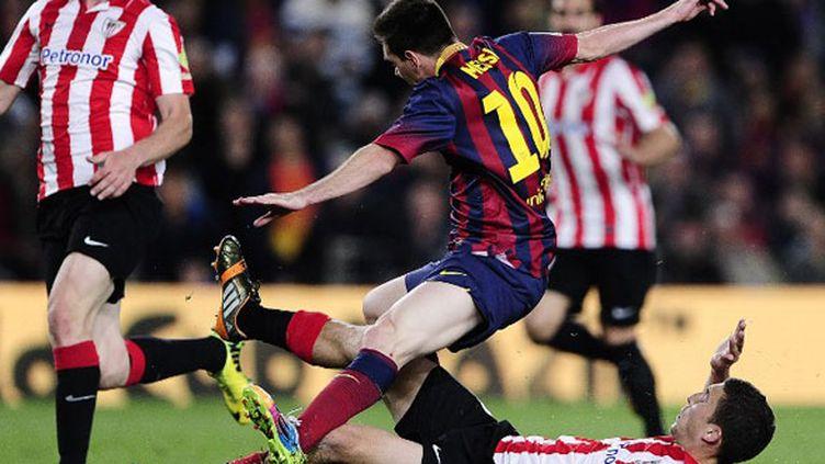 La faute commise sur Lionel Messi a permis à l'Argentin de donner la victoire aux siens