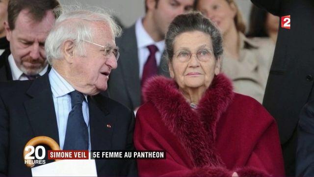 Simone Veil : cinquième femme au Panthéon