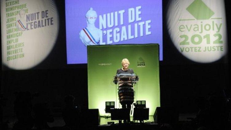 """Eva Joly lors de la """"Nuit de l'égalité"""" (BERTRAND GUAY / AFP)"""
