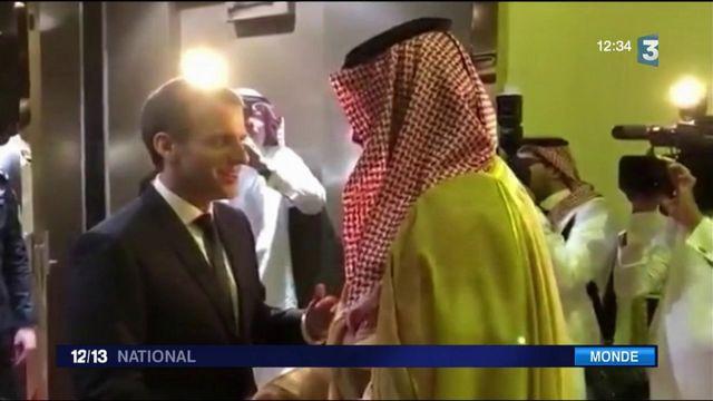 Arabie Saoudite : Emmanuel Macron en visite surprise en vue d'apaiser les tensions régionales