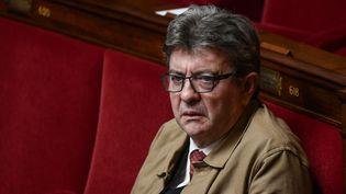 Le député de La France insoumise, Jean-Luc Mélenchon, à l'Assemblée nationale, le 25 septembre 2019. (PHILIPPE LOPEZ / AFP)