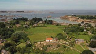 L'île de Bréhat, dans les Côtes-d'Armor. (CAPTURE ECRAN FRANCE 2)