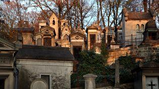Le cimetière du Père Lachaise, à Paris, le 23 avril 2018. (MANUEL COHEN / AFP)
