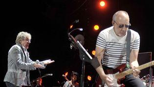 """The Who en concert au """"O2"""" à Dublin, en Irlande, en juin 2013  (Rex Features/REX/SIPA)"""