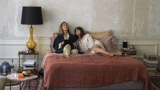 """Carole Bouquet et Monica Bellucci dans """"Les Fantasmes"""" des frères Foenkinos. (BERTRAND VACARISAS - MANDARIN PRODUCTION - GAUMONT)"""