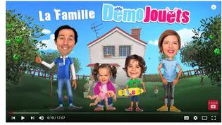 Capture d'écran de la chaîne Démo Jouets sur YouTube (Capture d'écran YouTube Démo Jouets)