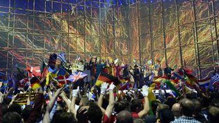 La soirée de l'Eurovision 2014, à Copenhague, au Danemark, le 10 mai 2014  (Jonathan Nackstrand / AFP)