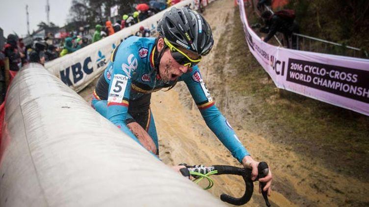 (Femke Van den Driessche pendant les championnats du monde de cyclo-cross en janvier dernier © Cerveny Michal/AP/SIPA)