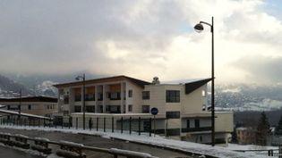 Le collège de Bourg-Saint-Maurice (Savoie) où un élève s'est suicidé le 12 février 2013. ( XAVIER SCHMITT / FRANCE 3 ALPES )