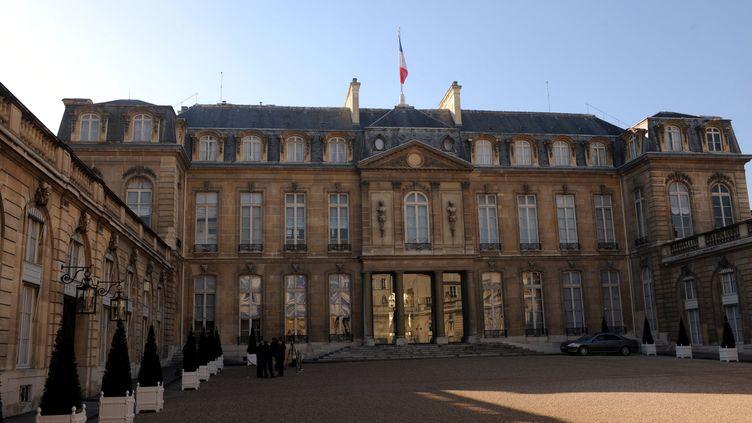Le palais de l'Élysée à Paris. (ALEXANDRE MARCHI / MAXPPP)