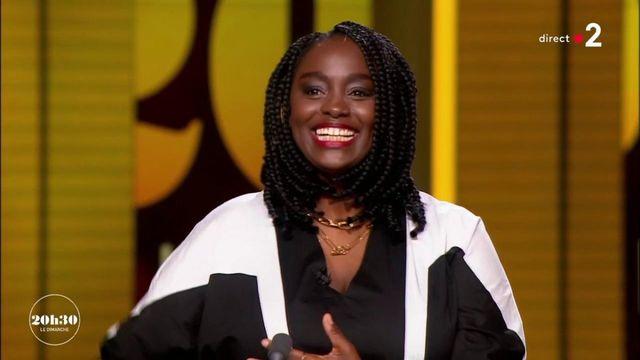 """VIDEO. """"Notre pays a la chance d'avoir un melting-pot. Et la solution est en nous"""", affirme la comédienne Aïssa Maïga"""