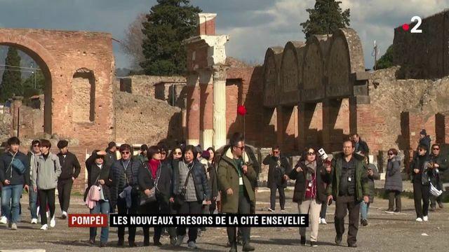 Pompéi : les nouveaux trésors de la cité ensevelie