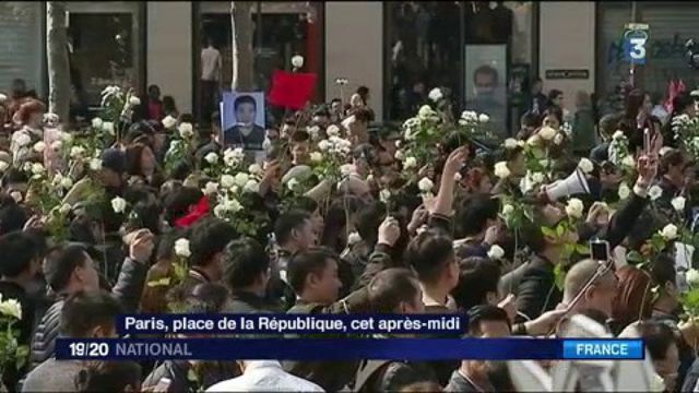 Mort de Shaoyo Liu : la communauté chinoise manifeste à Paris