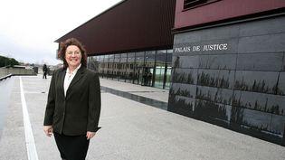 Le palais de justice d'Avesnes-sur-Helpe (Nord), le 8 janvier 2007. (MAXPPP)