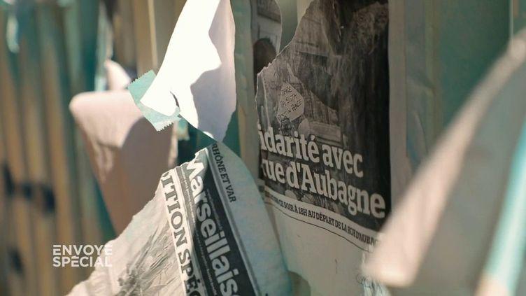 A Marseille, iln'a connu que des logements insalubres, voire dangereux. (ENVOYÉ SPÉCIAL  / FRANCE 2)