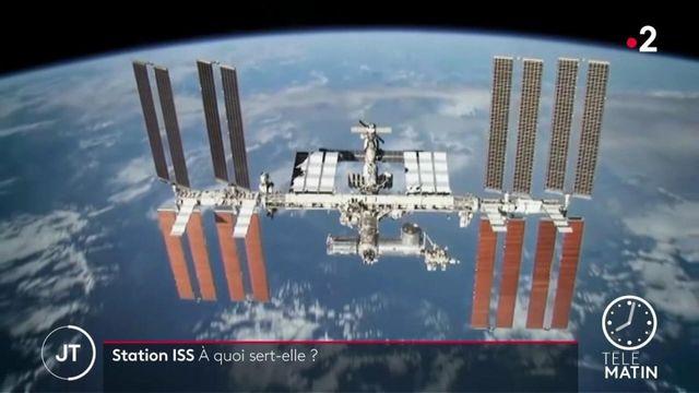 ISS : un immense laboratoire en orbite