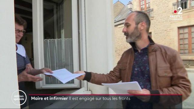 Coronavirus : maire et infirmier, il est engagé sur tous les fronts