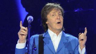 Paul McCartney sur scène le 5 juillet à Albany (New York)  (Hans Pennink/AP/SIPA)