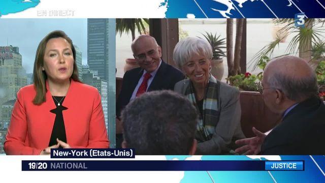 Affaire Tapie : le FMI soutient sa directrice Christine Lagarde, rattrapée par la justice