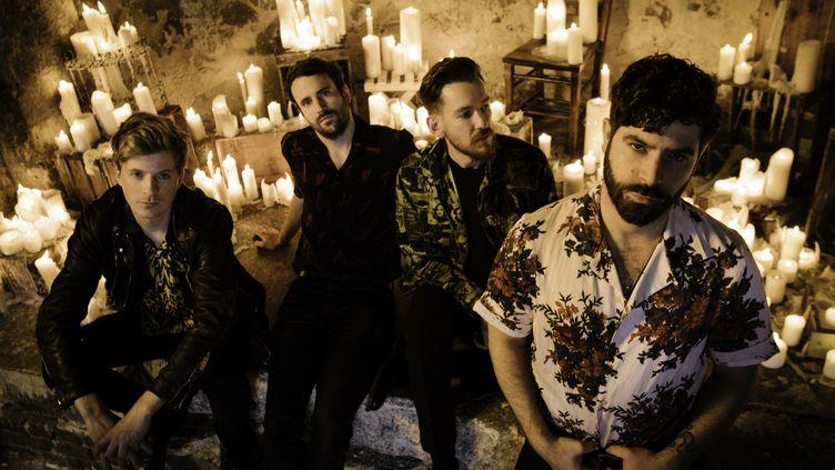 Yannis Philippakis (à droite) et ses camarades de Foals sortent leur deuxième album de l'année. (Alex Knowles)