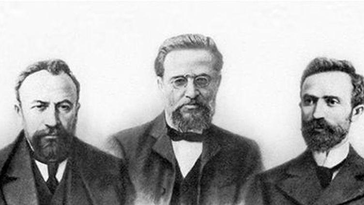 Les fondateurs du FRA :Stepan Zorian, Kristapor Mikaelian et Simon Zavarian (Site officiel du FRA/DR)