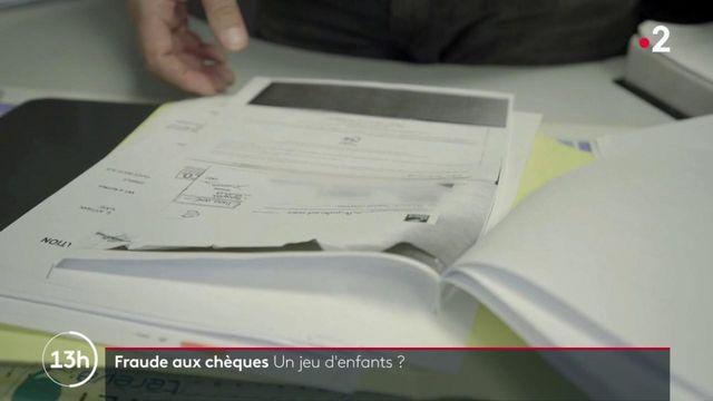 """""""Envoyé spécial"""" : la fraude aux chèques, un jeu d'enfants"""