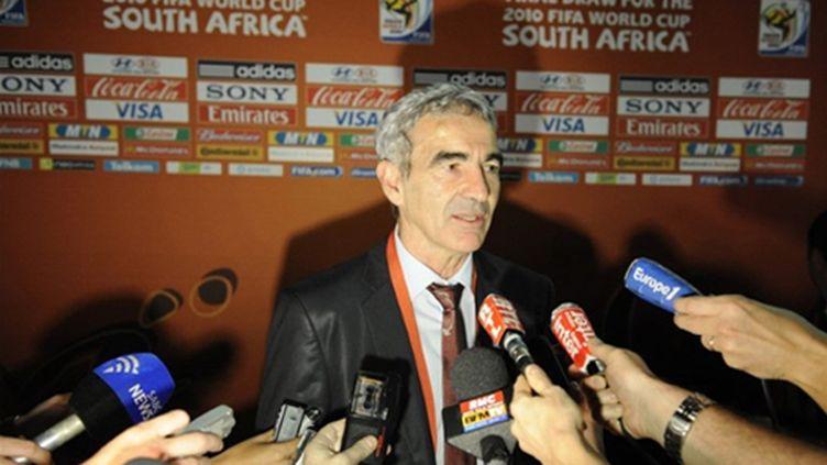 Raymond Domenech (STEPHANE DE SAKUTIN / AFP)