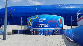 Le stade Océane du Havre, prêt pour la Coupe du monde. (CÉCILIA ARBONA / RADIO FRANCE)