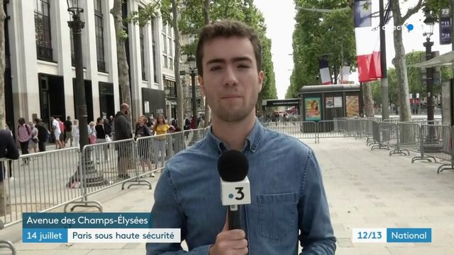 14-Juillet : un important dispositif de sécurité à Paris