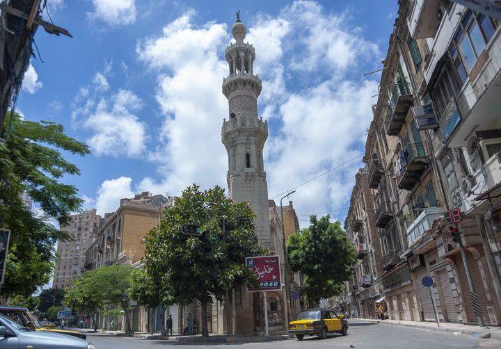Mosquée Attarine à Alexandrie, 12 juillet 2020 (AFP)
