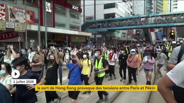 Paris et Pékin s'oppose sur la gestion de Hong Kong